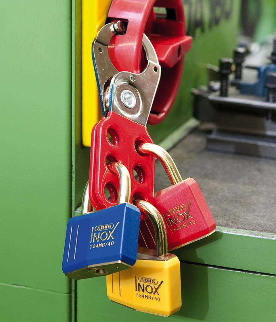 Anwendungsbeispiel - Hauptschalter-Verriegelung Stahl H701-H712