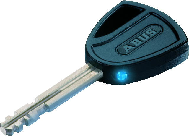 LED-lighted key
