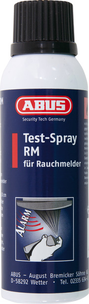 Test-Spray für Rauchmelder RM 125