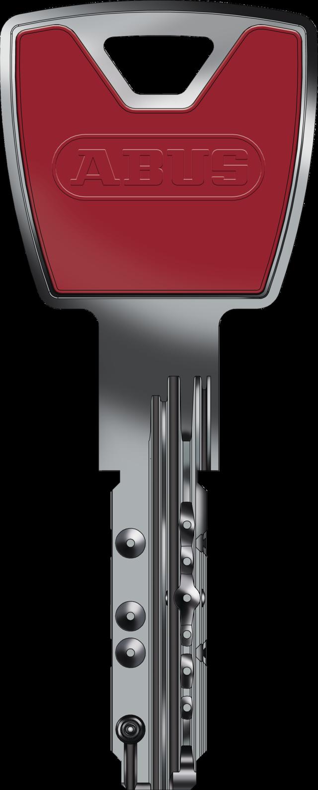 Schlüssel in dark red - eine von zwölf Farbvarianten