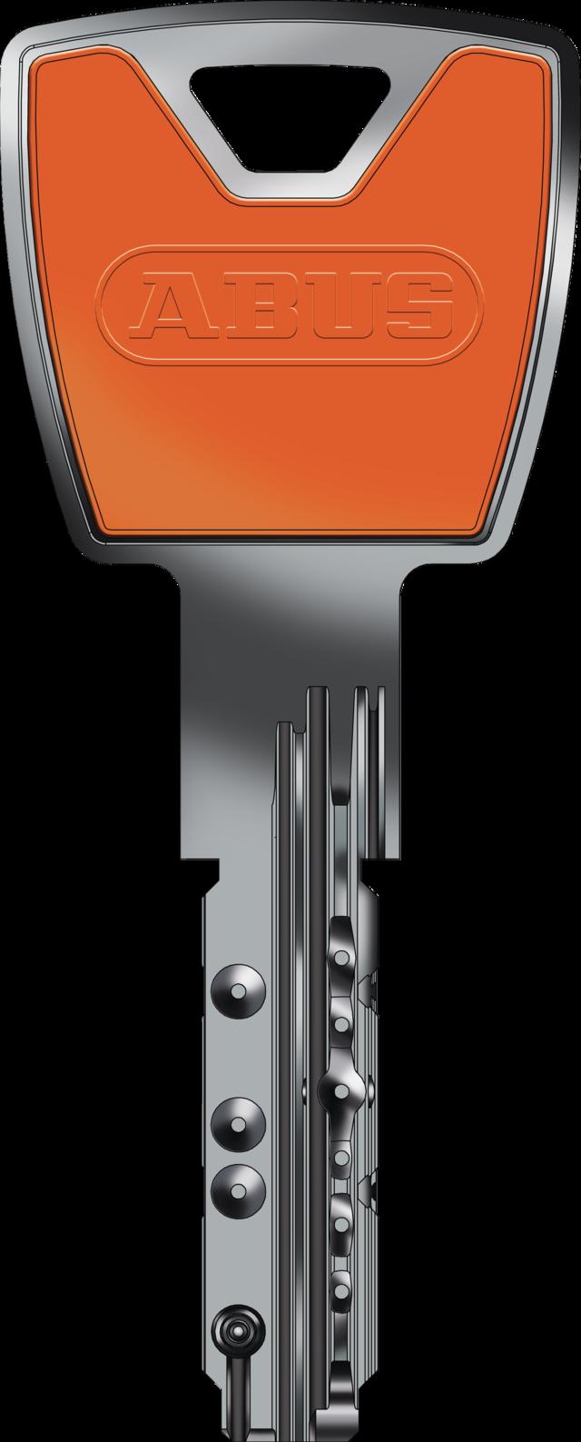 Schlüssel in orange - eine von zwölf Farbvarianten