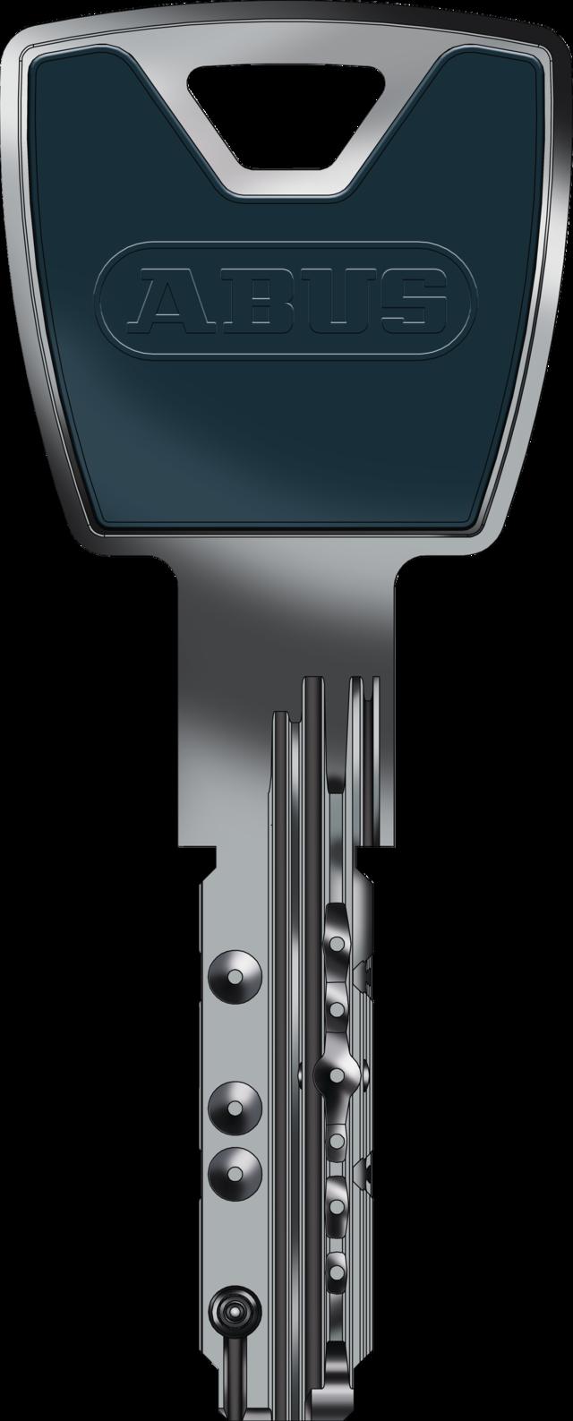 Schlüssel in saphire blue - eine von zwölf Farbvarianten