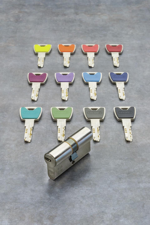 XP20S – mit bunten Schlüsselkappen