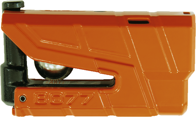 Brake disc lock 8077 Granit Detecto orange