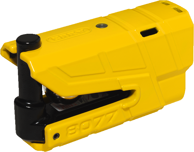Brake disc lock 8077 Granit Detecto yellow