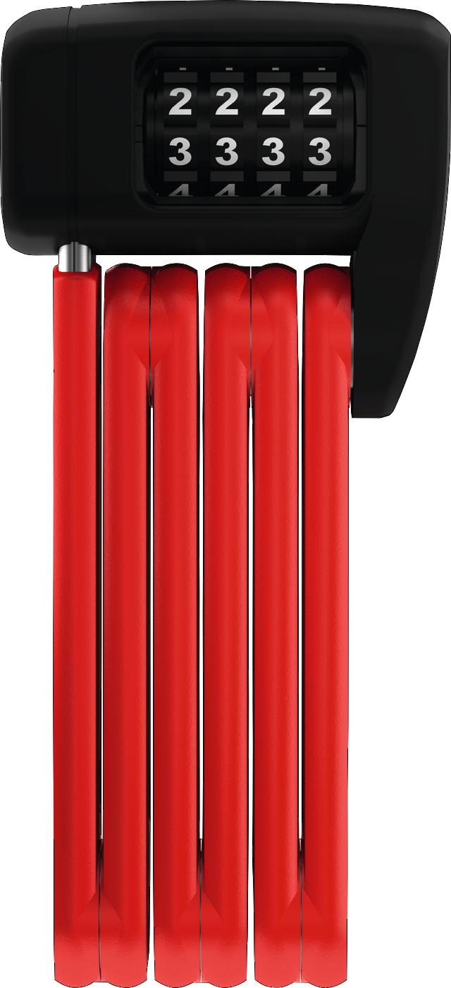 Faltschloss BORDO™ LITE MINI 6055C/60 red