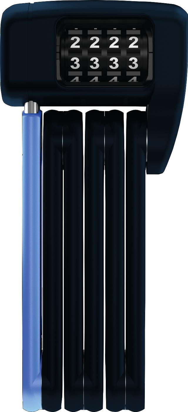 Fällbart lås BORDO™ LITE MINI 6055C/60 Movistar Team