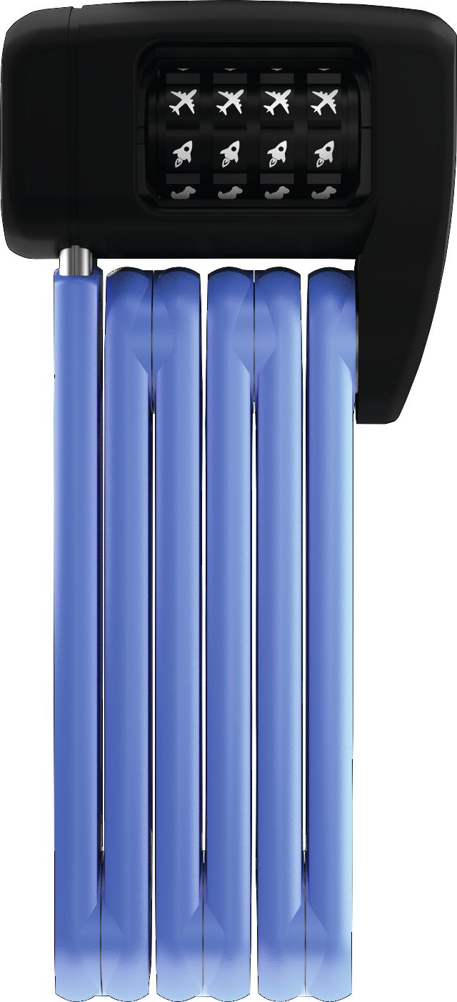 Faltschloss BORDO™ LITE MINI 6055C/60 blue SYMBOLS