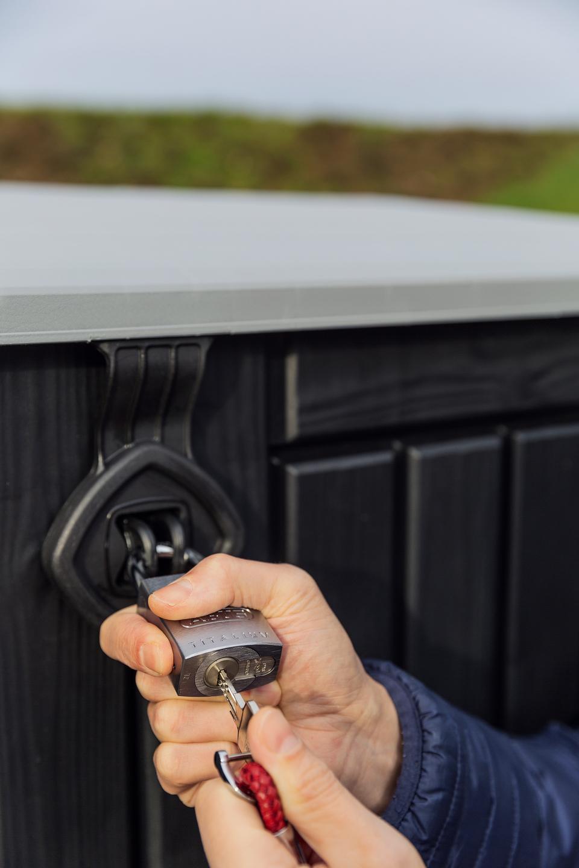 Ein Schlüssel für Vorhangschloss und Fahrradschloss - mit dem BORDO 6000 PZ
