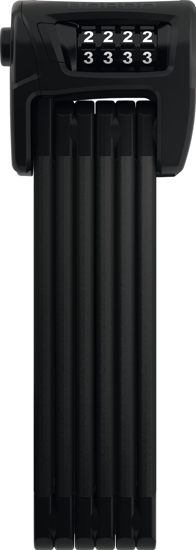 Vouwslot 6100/90 zwart SH