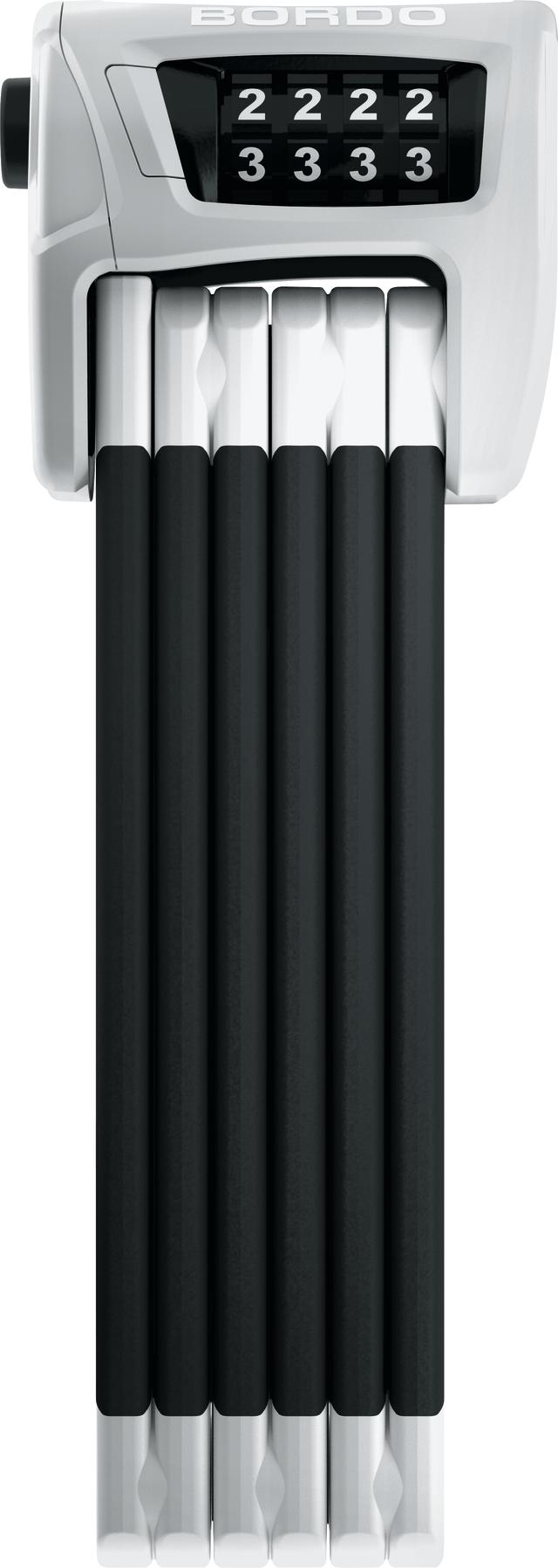 Vikbart lås 6100/90 vit SH