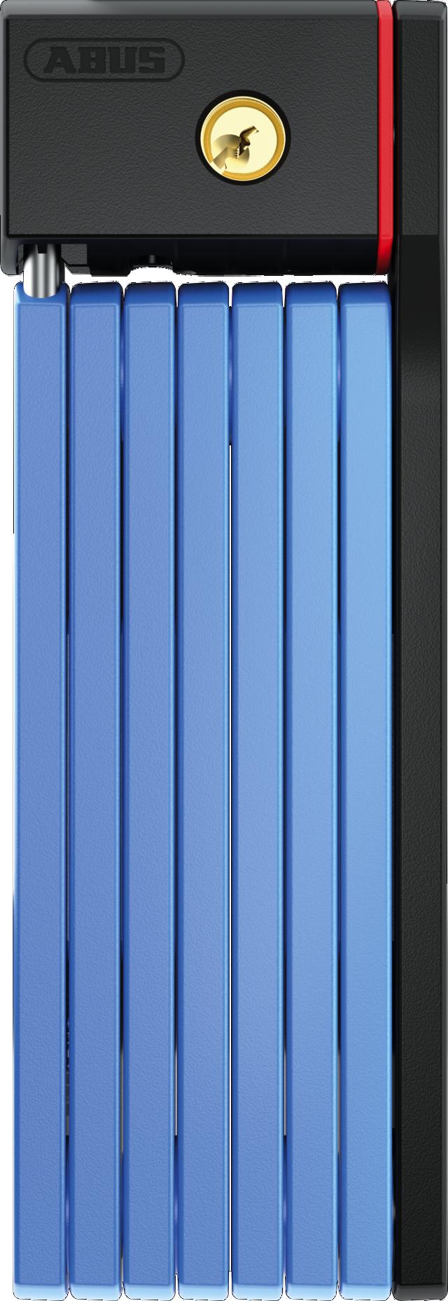 Hajtogatható lakat 5700/100 kék SH