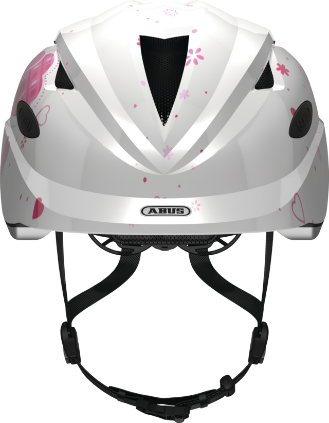 Anuky white heart front view