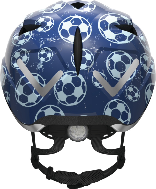 Anuky blue soccer back view