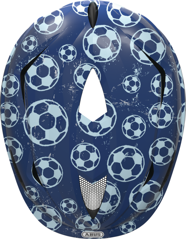Anuky blue soccer top view