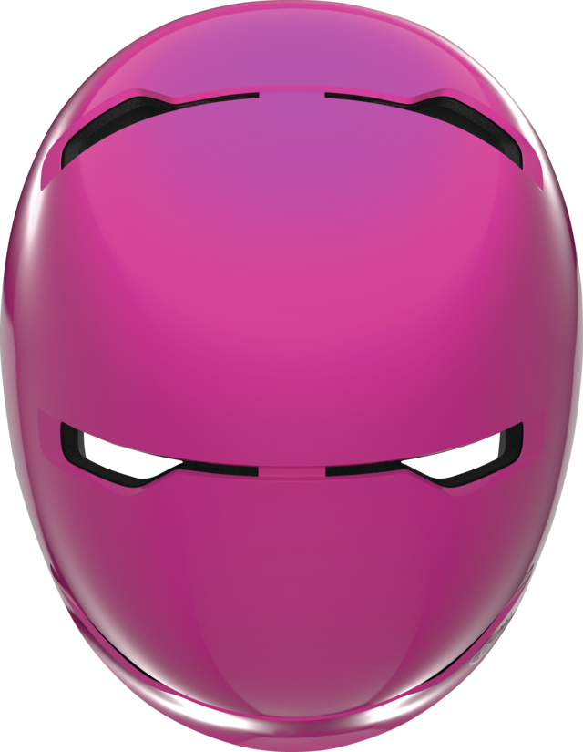 Scraper Kid 3.0 shiny pink vista dall'alto