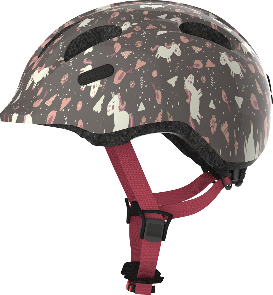 ABUS Kinderhelm Smiley 2.0 Rose Horse Taille S 45-50 cm