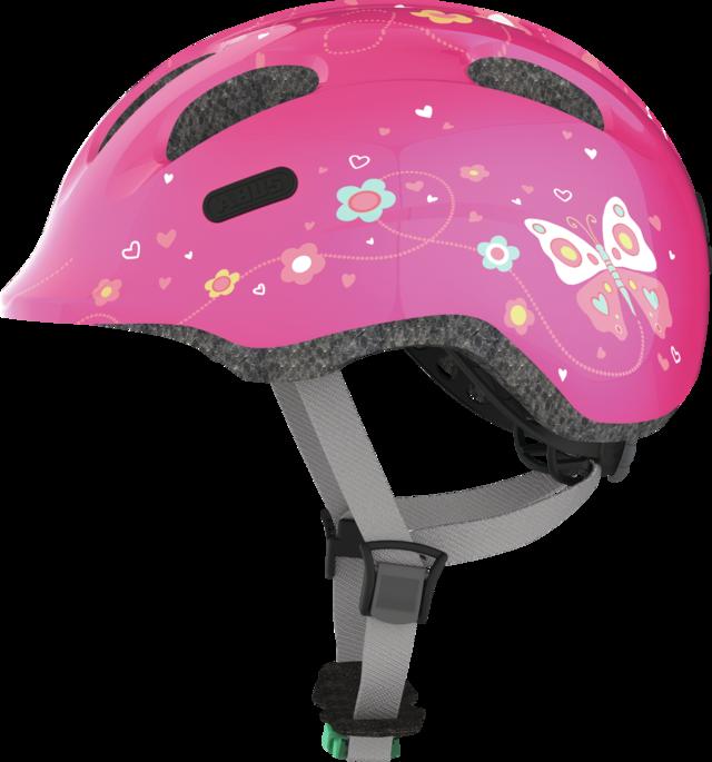 Smiley 2.0 SE Grönt spänne pink butterfly S