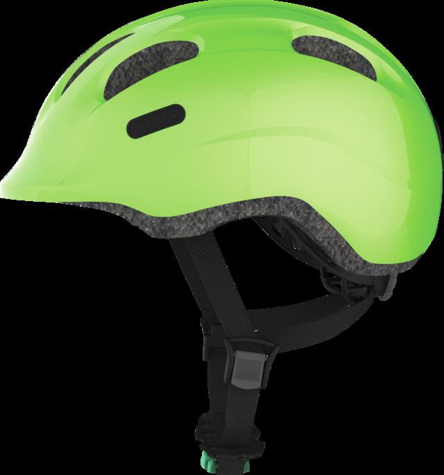 Smiley 2.0 SE Grönt spänne sparkling green utsikt från sidan