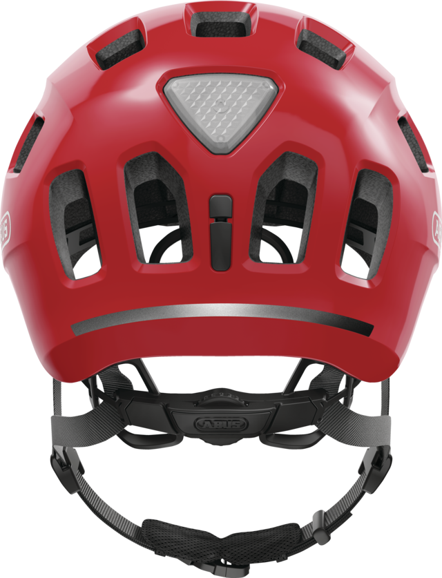 Youn-I 2.0 blaze red back view