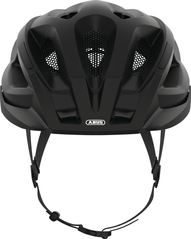 Aduro 2.1 velvet black front view with visor
