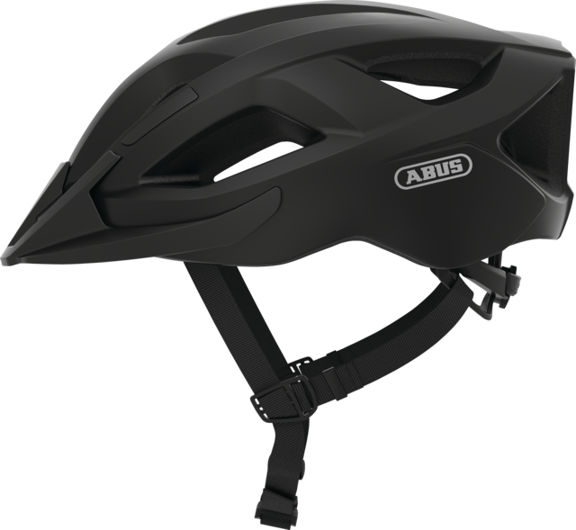 Aduro 2.1 velvet black side view with visor