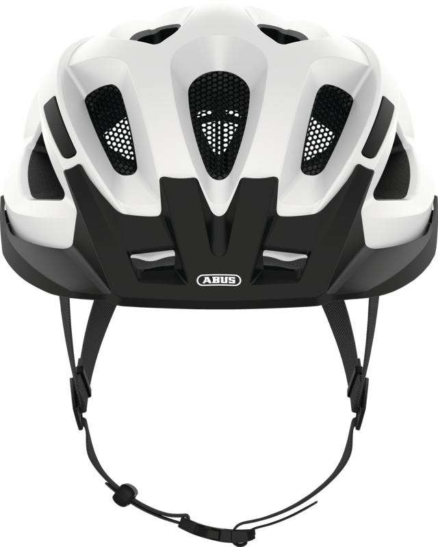 Aduro 2.1 polar white front view with visor