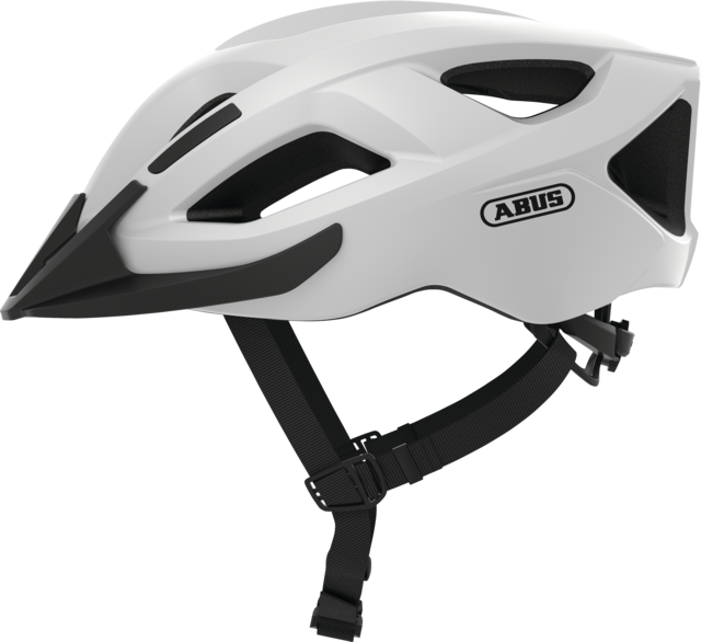 Aduro 2.1 polar white side view with visor