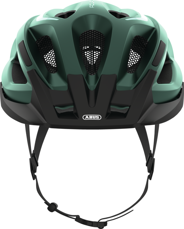 Aduro 2.1 smaragd green front view with visor