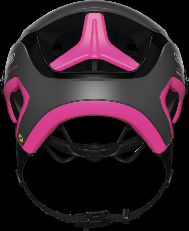 MonTrailer ACE MIPS fuchsia pink achteraanzicht