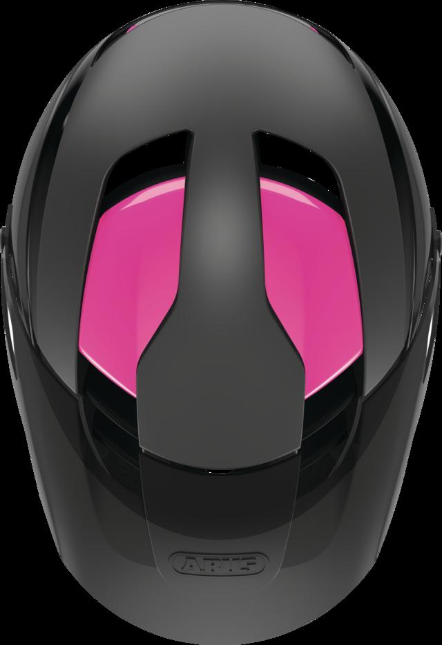 MonTrailer ACE MIPS fuchsia pink bovenaanzicht