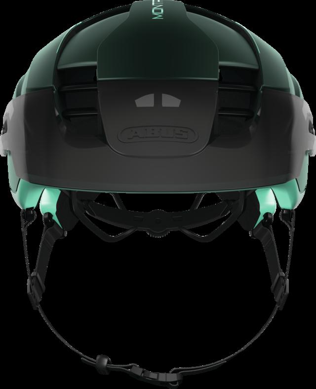 MonTrailer MIPS smaragd green vooraanzicht