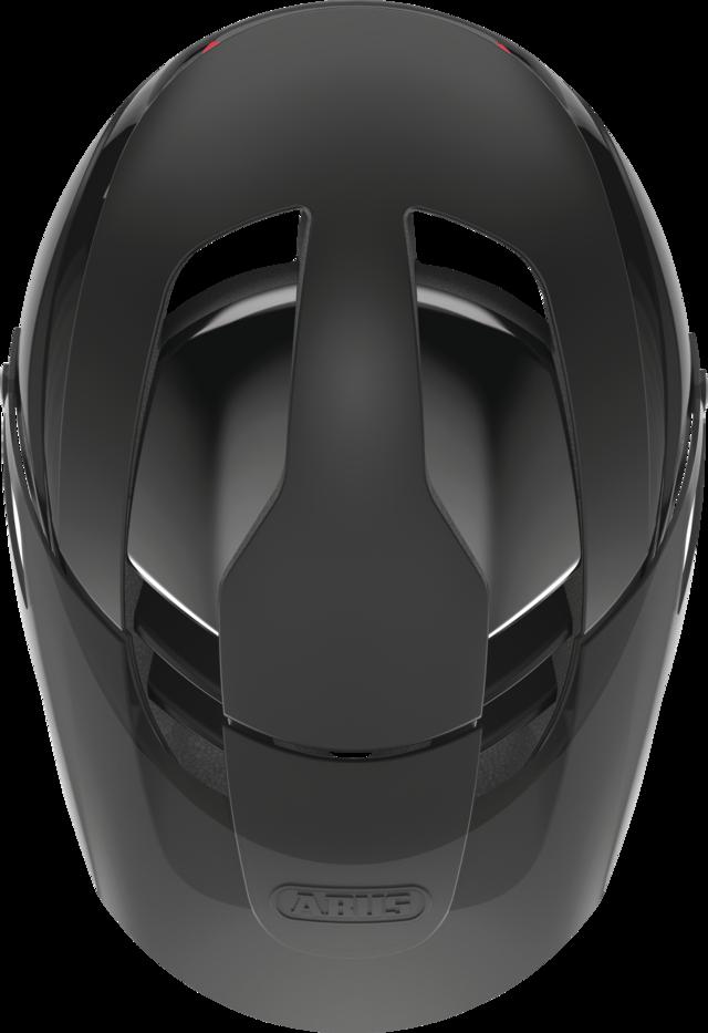 Montrailer Quin velvet black Draufsicht