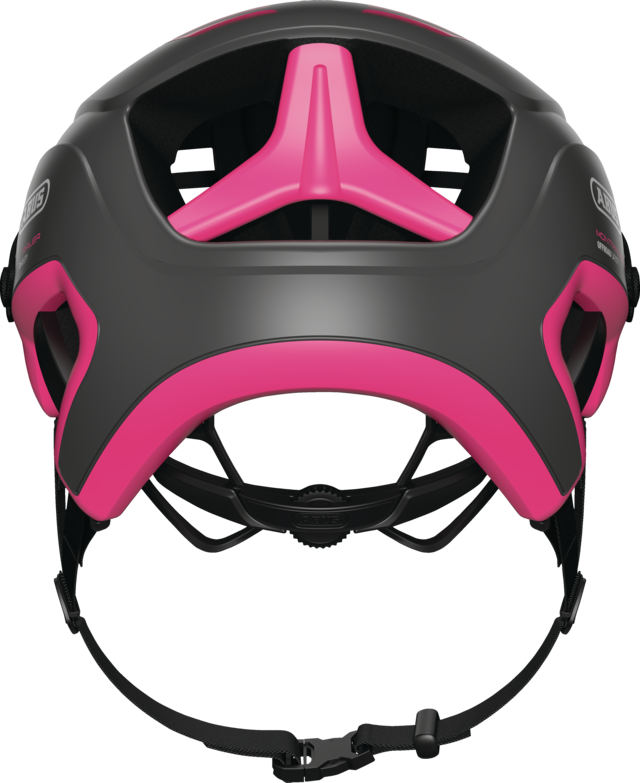 MonTrailer fuchsia pink vista posterior