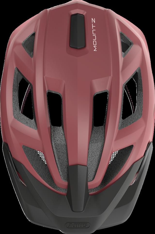 MountZ russet red vista dall'alto