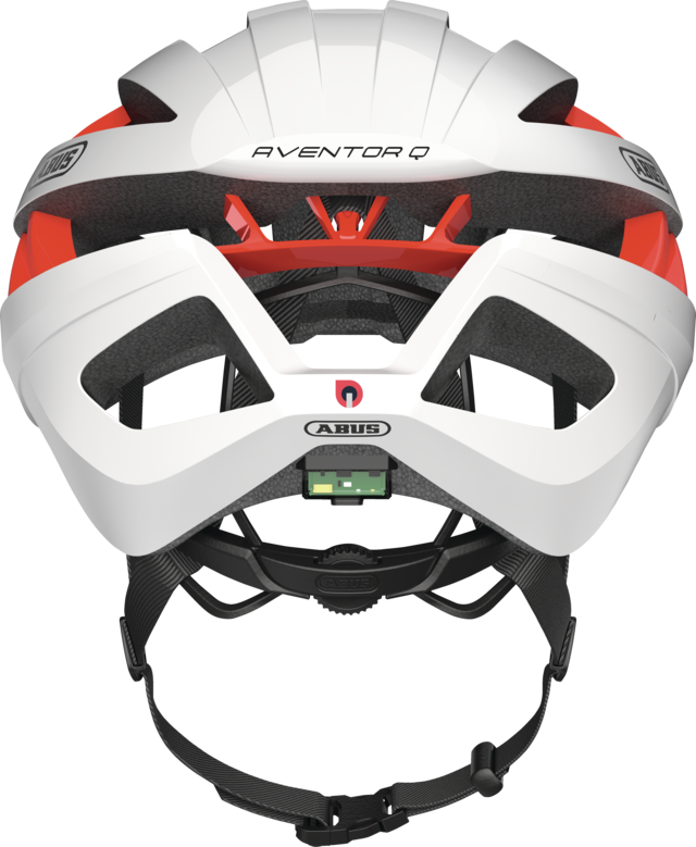Aventor Quin polar white back view