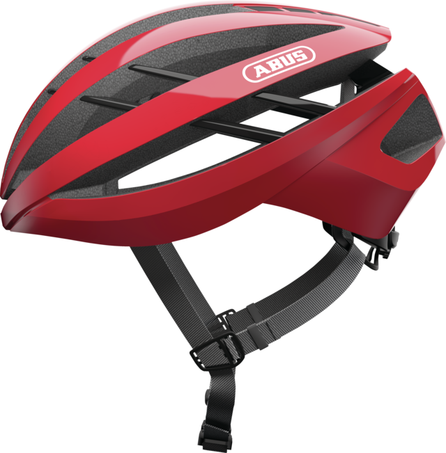 Aventor racing red vue de côté