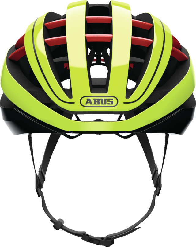Aventor neon yellow vue de face