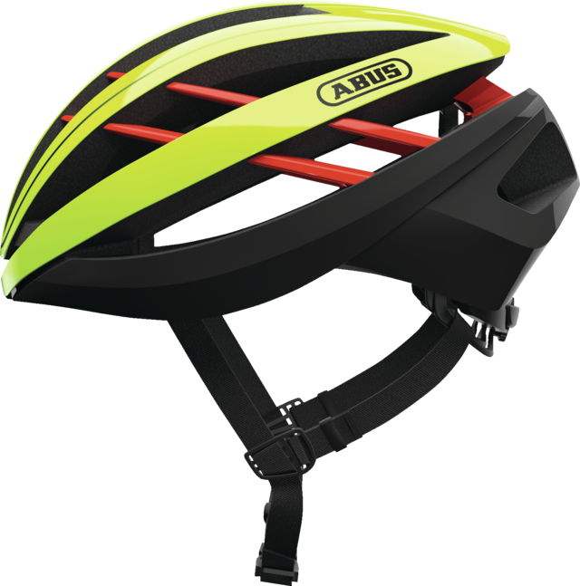 Aventor neon yellow sideview