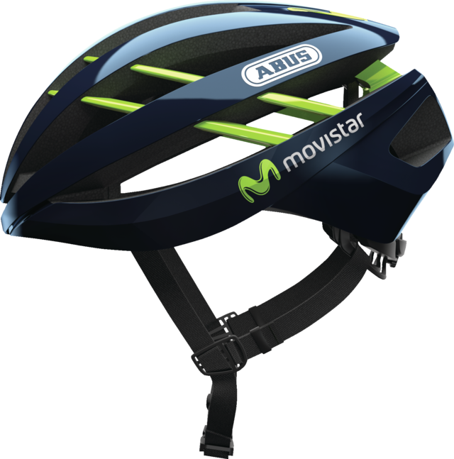 Aventor Movistar Team widok z boku