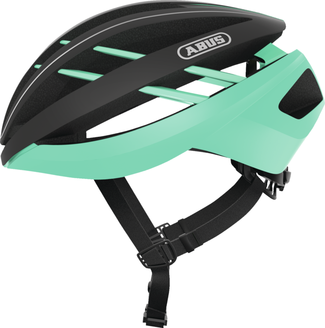 Aventor celeste green side view