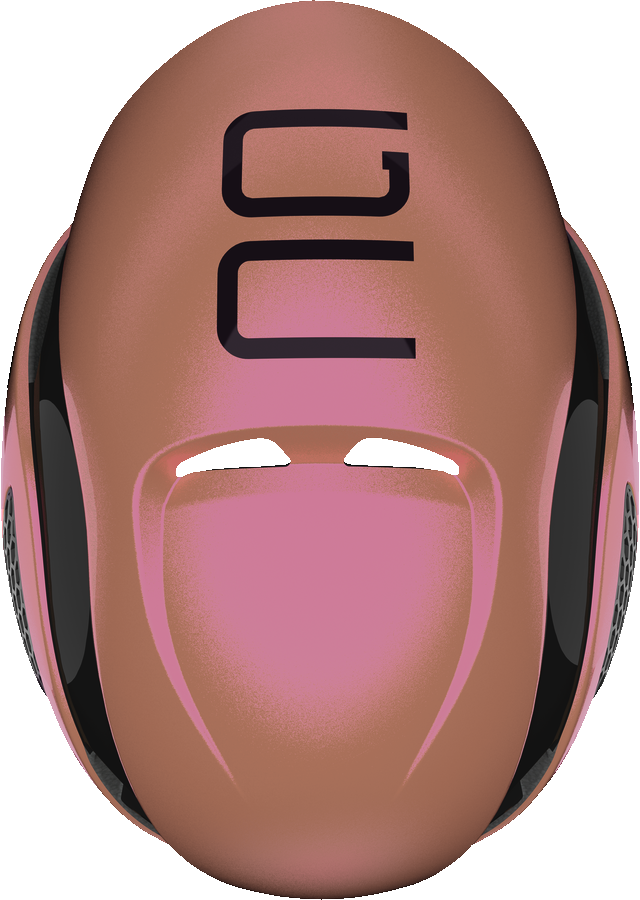 GameChanger flip flop rosé top view