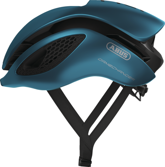 GameChanger steel blue vue de côté