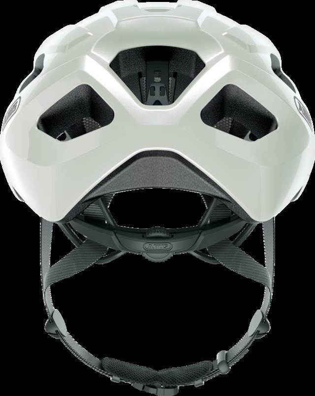 Macator pearl white vue arrière