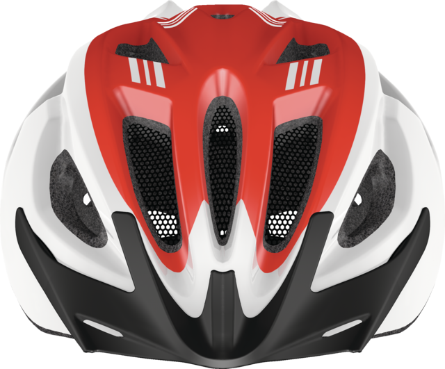 S-Cension race red vista frontal