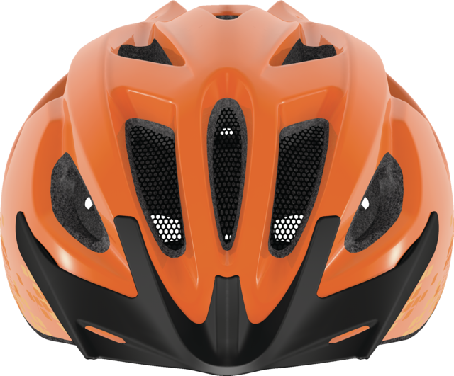 S- Cension diamond orange front view