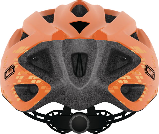 S- Cension diamond orange back view