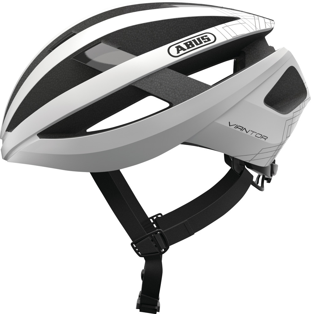 Abus Pink Viantor S 51-55cm Helmet