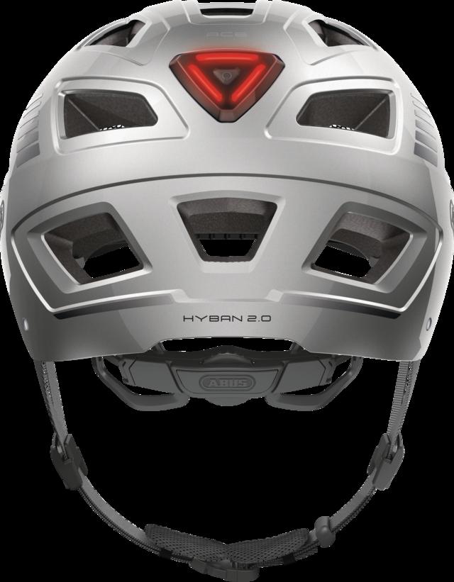 Hyban 2.0 Signal silver vue arrière