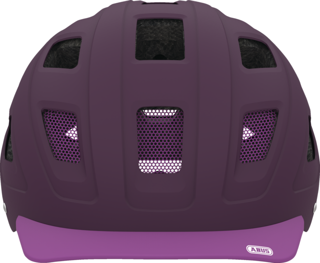Hyban core purple front view